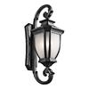 Kichler Lighting Salisbury 42-in H Black Outdoor Wall Light