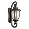 Kichler Lighting Salisbury 42-in H Rubbed Bronze Outdoor Wall Light