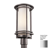 Kichler Lighting Pacific Edge 18.75-in H Polished Stainless Steel Post Light