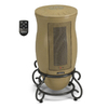 Lasko Ceramic Tower Electric Space Heater with Thermostat Energy Saving Setting with Remote Control