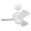 Monte Carlo Fan Company Micro 24 24-in White Downrod or Close Mount Indoor Ceiling Fan (3-Blade)
