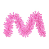 Northlight 12-in x 9-ft Pre-Lit Tinsel Artificial Christmas Garland with Pink Incandescent Lights