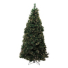 Northlight Equinox 7.5-ft Pre-Lit Pine Slim Artificial Christmas Tree with White Incandescent Lights