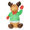 Northlight 4-ft Lighted Reindeer Christmas Inflatable