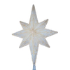 Northlight Sienna Translucent Off-White Star Tree Topper with White Incandescent Lights