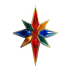 Northlight Sienna Multicolored Star Tree Topper with White Incandescent Lights