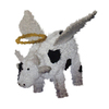 Northlight Sienna Lighted Angel Cow Freestanding Sculpture Outdoor Christmas Decoration with White LED Lights