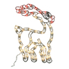 Northlight Sienna Lighted Reindeer Hanging Outdoor Christmas Decoration with Multicolor Incandescent Lights