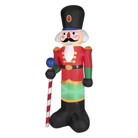 ... ft Internal Light Nutcracker Christmas Inflatable at Lowes.com