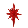 Northlight Penn 1-ft 6-in Lighted Hanging Star Outdoor Christmas Decoration with Red Twinkling LED Lights