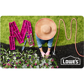 Mom Gardening Gift Card