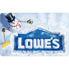 Holiday Snowman Gift Card