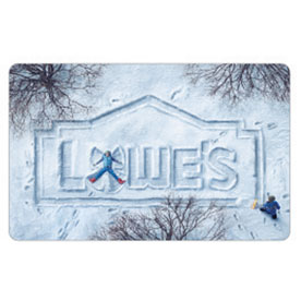 Holiday Snow Gift Card