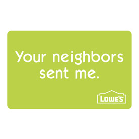 Your Neighbors Sent Me Gift Card