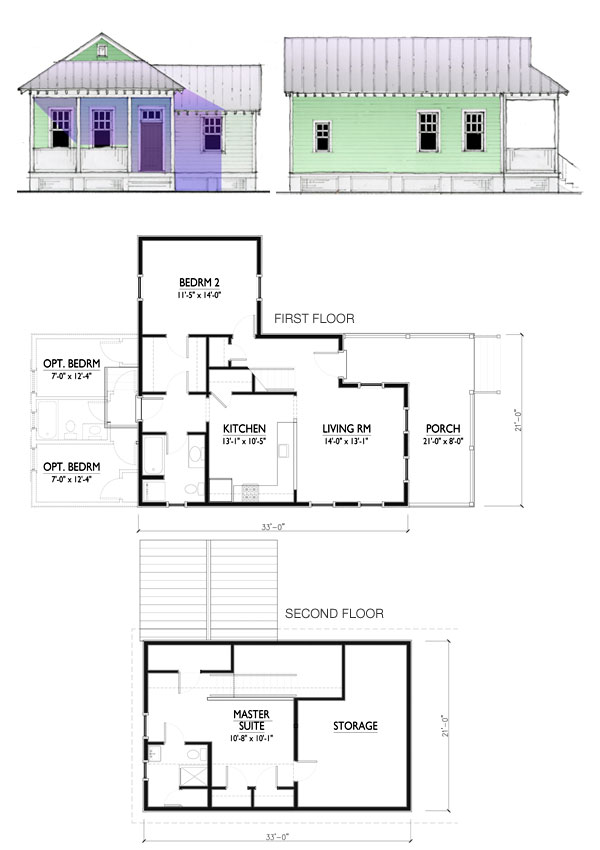 Katrina cottages floor plans lowes gurus floor for Katrina cottage floor plans