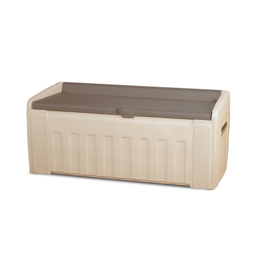Lowes Patio Storage Bins Patio Flare Pf Ac 209c Br Ferrara Wicker Deck Box Lowe S Contemporary