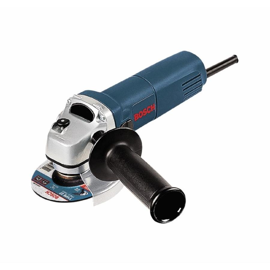 Bosch 4-1/2-In 6 Amps Sliding Switch Corded Angle Grinder 1375A