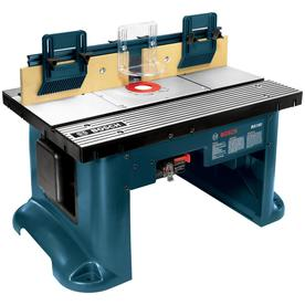 Bosch 22.75-in x 27-in Adjustable Router Table RA1181