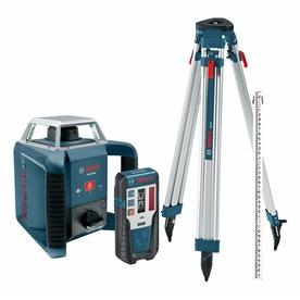 Bosch 1,300-Ft Beam Self Leveling Rotary Laser Level Grl ...