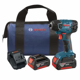 Bosch 18-Volt Lithium Ion 1/4-In Cordless Variable Speed ...
