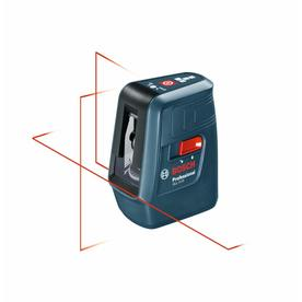 Bosch 3-Line 50-ft Laser Chalkline Self-Leveling Line Generator Laser Level with Plumb Points GLL 3-15