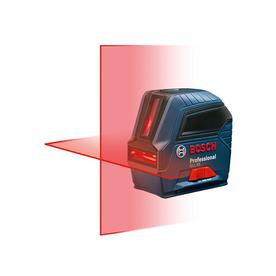 Bosch 50-ft Beams and Laser Chalklines Self Leveling Cross-Line Laser Level GLL 55