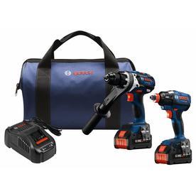 Bosch CORE18V 2-Tool 18-Volt Lithium Ion Brushless Cordless Combo Kit GXL18V-225B24