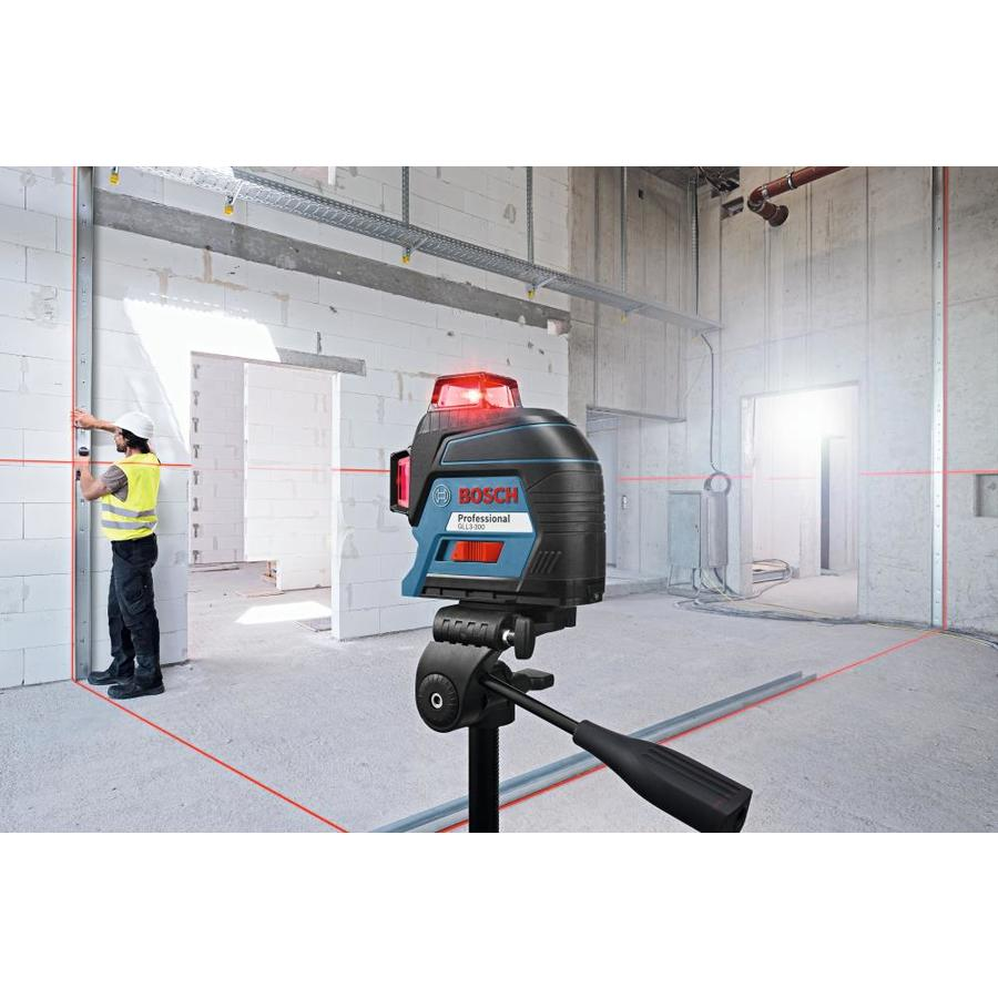 Bosch Visimax 200 Ft Red Beam Self Leveling Line Generator 360 Laser Level Kit Level In The Laser Levels Department At Lowes Com