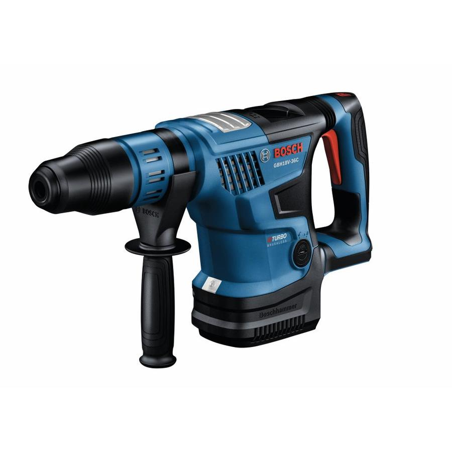 PROFACTOR 18-Volt 1-9/16-in SDS-Max Variable Speed Cordless Rotary Hammer Drill in Blue | - Bosch GBH18V-36CN