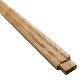 Shop Idaho Timber Cedar True Split Wood Fence Rail Common
