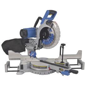 10-in 15-Amp Dual Bevel Sliding Laser Compound Miter Saw - Kobalt SM2516LW