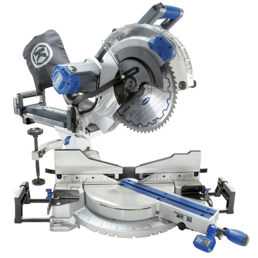 Shop Kobalt 12 In 15 Amp Dual Bevel Sliding Laser Compound