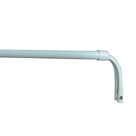 Project Source Curtain Rod 84 In To 120 In White Steel Sash Rod 27262phhlg Price Tracking