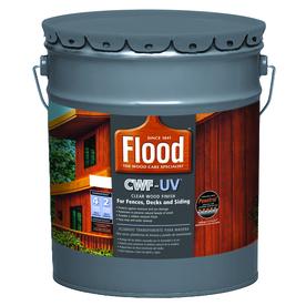 010273520204 upc flood 5 gal cedar tone cwf uv oil for Exterior wood stain flood