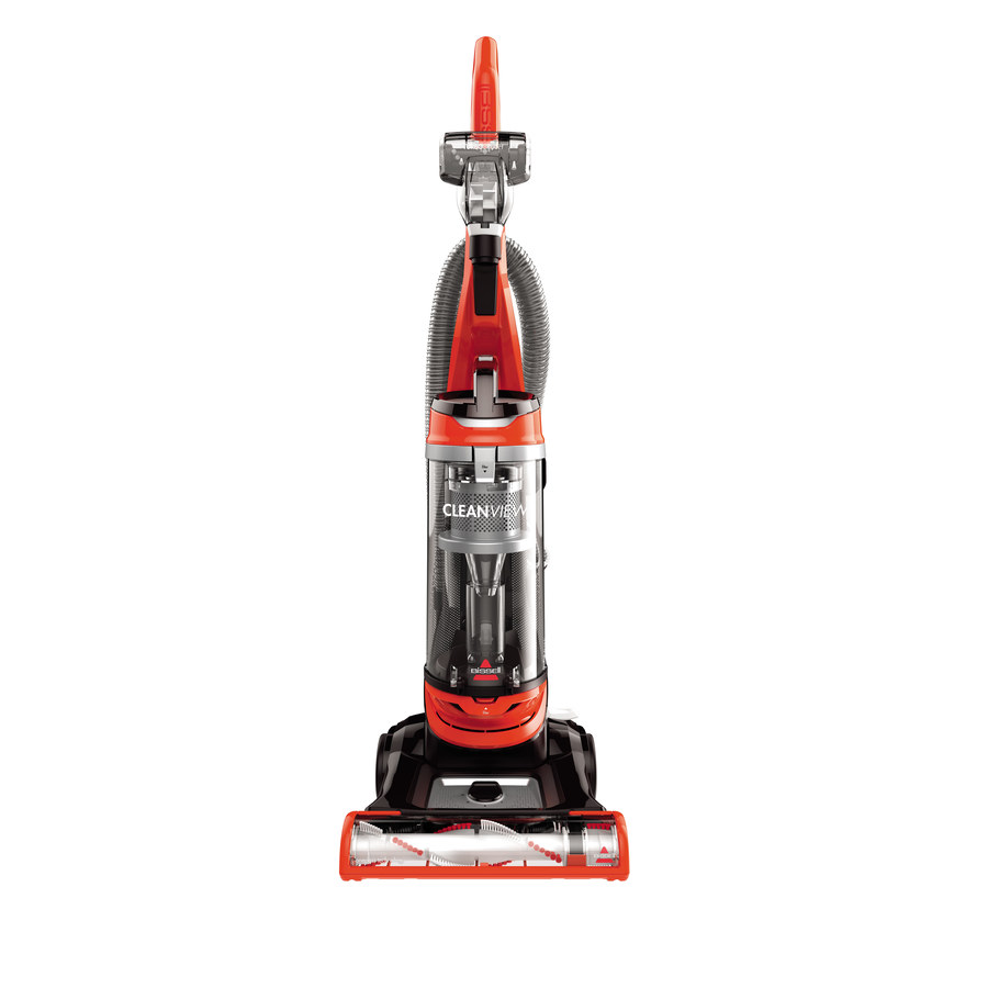BISSELL BISSELL CleanView Corded Bagless Upright Vacuum in Orange | 2487
