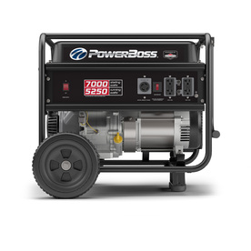 Powerboss 5250-Running-Watt Portable Generator With Brigg...