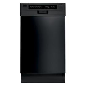 Frigidaire 55-Decibel Built-In Dishwasher (Black) (Common...