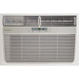 Frigidaire 8 000 btu 350 sq ft 115 volt window air for 18000 btu window air conditioner lowes