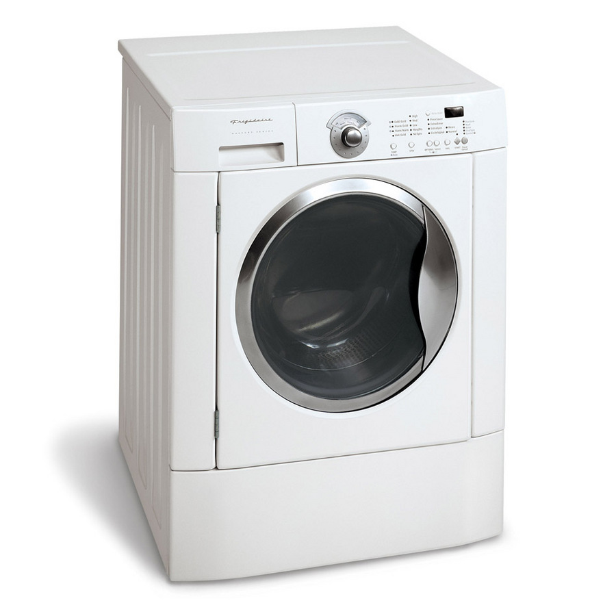frigidaire front load washer shop frigidaire 3 cu ft front load washer white energy 11092