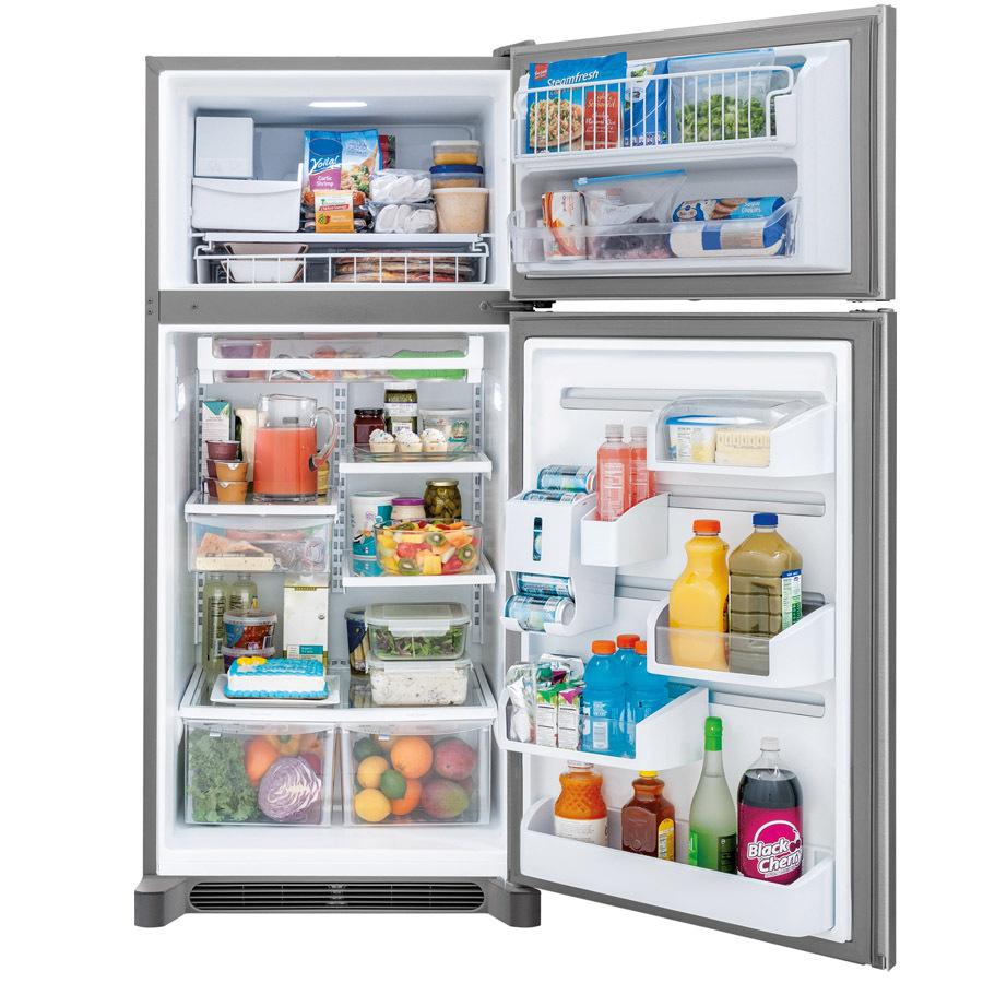 Shop Frigidaire Gallery 18.3-cu Ft Top-Freezer