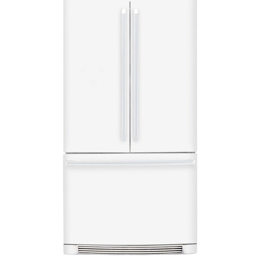 French Door Refrigerator White Counter Depth French Door