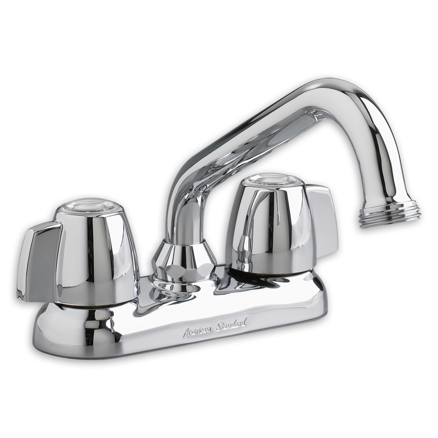 Shop American Standard Chrome 2 Handle Utility Sink Faucet