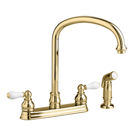 Shop American Standard Williamsburg Polished Brass 2