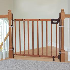 Display Product Reviews For 36 75 In Brown Wood Safety Gate Extender