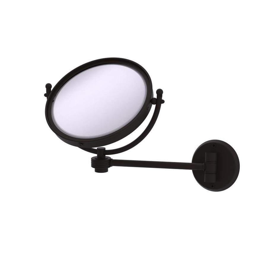 Berrywood Wall Mounted Modern and Contemporary Magnifying Make-Up Mirror Charlton Home® Finish: Oil Rubbed Bronze -  Allied Brass, WM-5G/4X-ORB