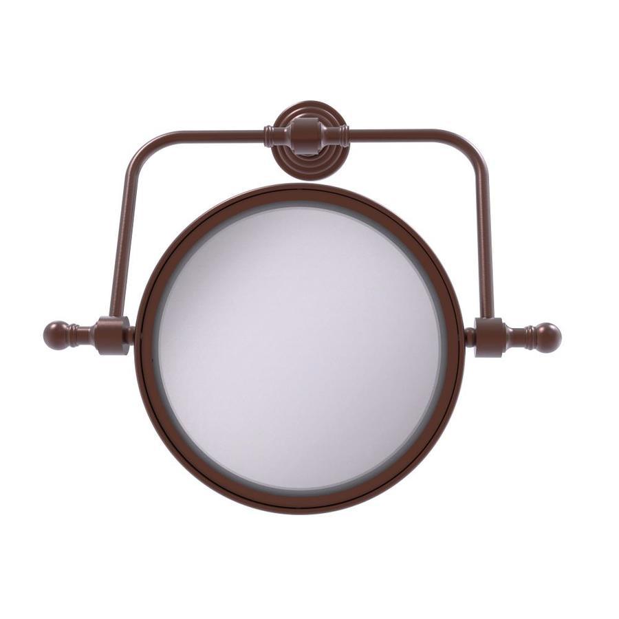 Allied Brass WS-93-GYM Frameless Landscape Rectangular Tilt Mirror with Beveled Edge Matte Gray