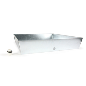 Shop Camco Manufacturing 30 Quot Galvanized Square Drain Pan