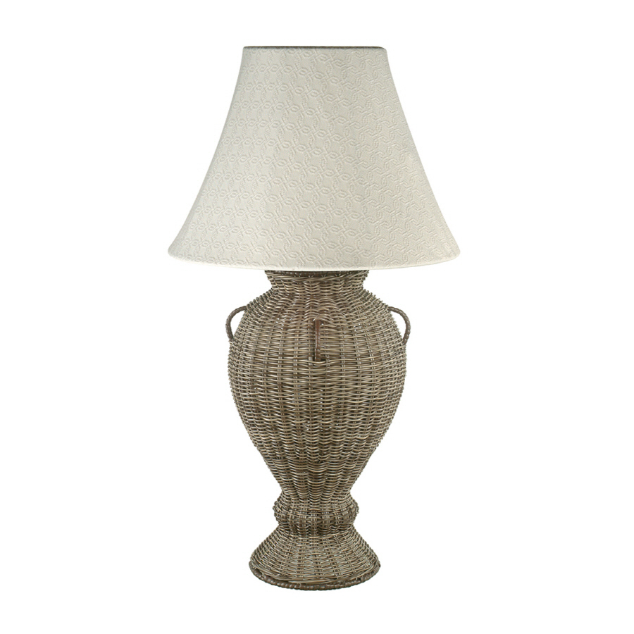 Lowes Table Lamps: Shop Royce Lighting Outdoor Table Lamp With Shade At Lowes.com