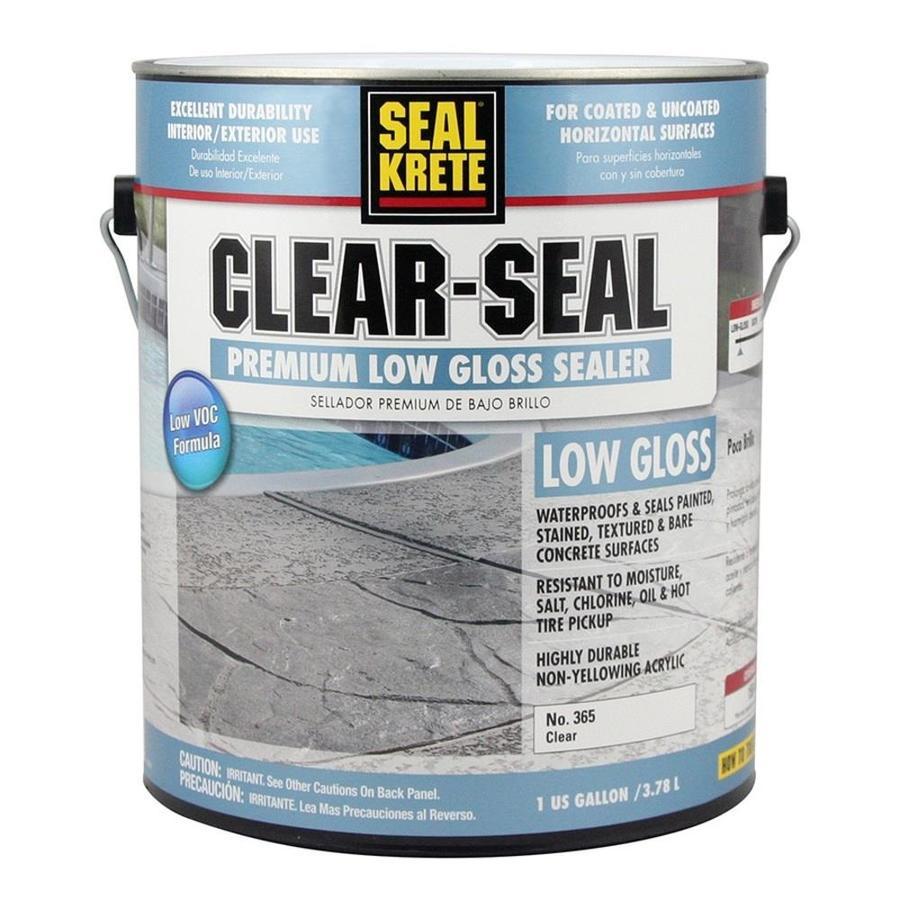 Shop Seal Krete Clear Seal Low Voc Concrete Sealer At