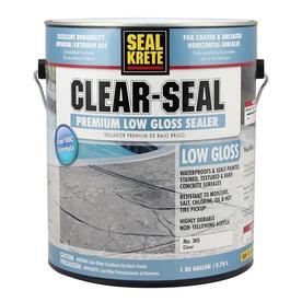 Shop Seal Krete Clear Seal Low Voc Concrete Sealer Actual